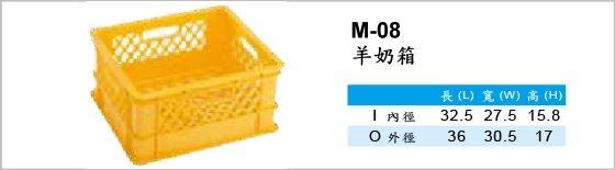 物流箱,M-08,羊奶箱