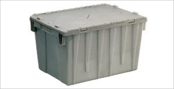 物流箱主要是以裝載諸多物品,便於物流運送為主要目的一種容器