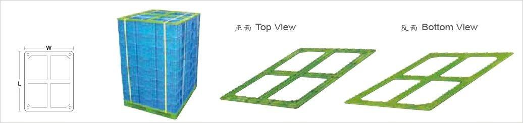 天板,塑膠棧板,搭配使用,固定棧板上物品